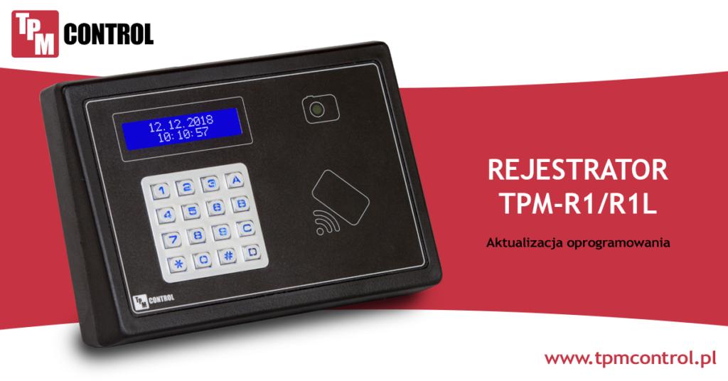 Rejestrator R1LAN zaprojektowany specjalnie do pracy w systemie Planowania Produkcji i Obsługi Zleceń.