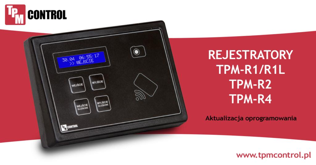 Rejestrator zaprojektowany specjalnie do pracy w systemie Rejestracji czasu pracy