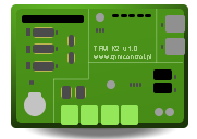 Kontroler wyprodukowany przez firmę TPM Control zaprojektowany do pracy w systemie Kontroli Dostępu